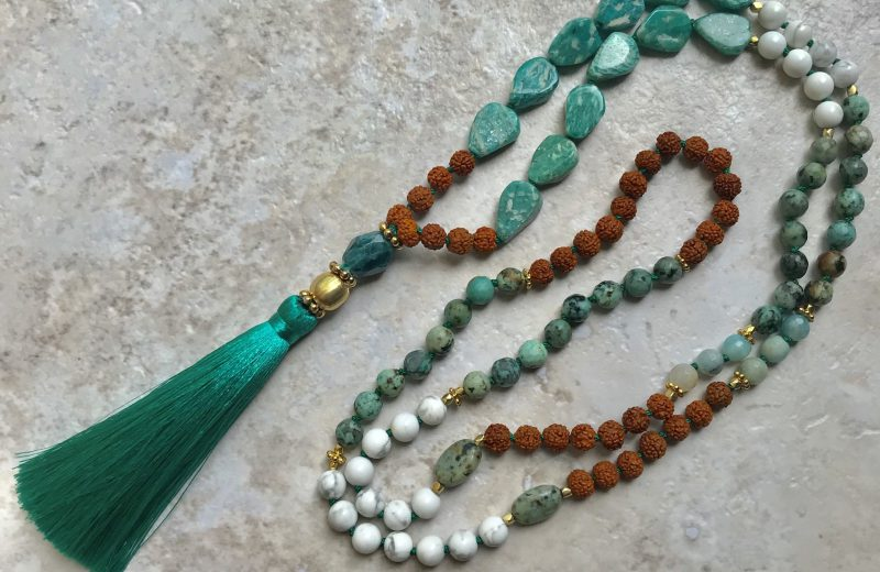 Inner calm, patience and wellness mala